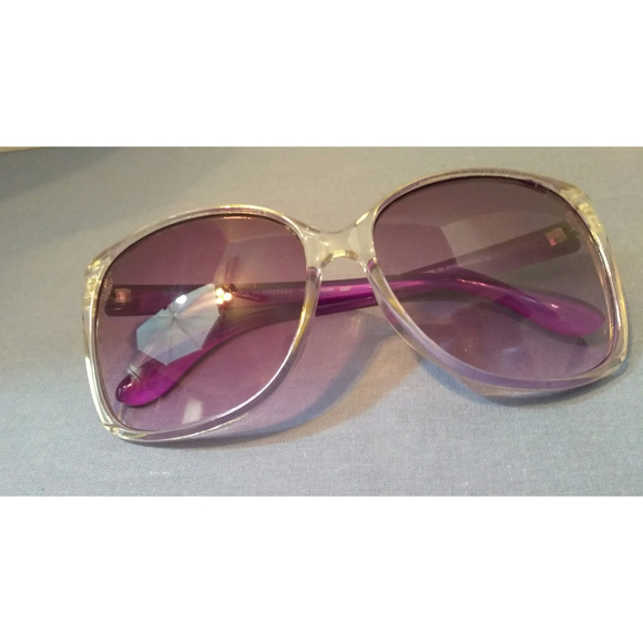 02511af300 American Eagle Outfitters Accessories - Purple and Clear Sunglasses from AE